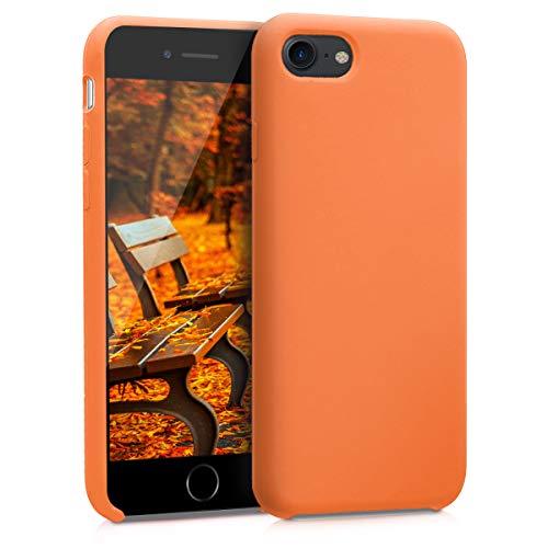 kwmobile Hülle kompatibel mit Apple iPhone 7/8 / SE (2020) - Hülle Handyhülle gummiert - Handy Hülle in Cosmic Orange