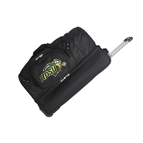 Great Features Of NCAA North Dakota State Bison Rolling Drop-Bottom Duffel Bag, 27-inches