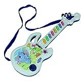 Sylvialuca Guitare électrique Jouet Jeu Musical Enfant garçon Fille Enfant en Bas âge Apprentissage développement électronique Jouet éducation Cadeaux d'anniversaire