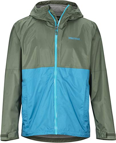 Marmot PreCip Eco Plus Jacket Heren krokodille/turks tegel 2019 winterjas