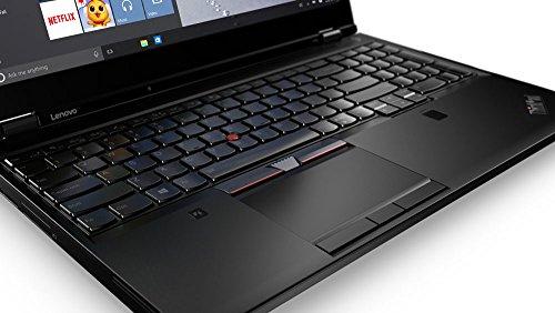 Product Image 4: Lenovo ThinkPad P51 Mobile Workstation 20HH000TUS – Intel Quad-Core i7-7700HQ, 16GB DDR4 RAM, 512GB PCIe NVMe SSD, 15.6″ FHD IPS 1920×1080 Display, NVIDIA Quadro M1200 4GB, Windows 10 Pro.