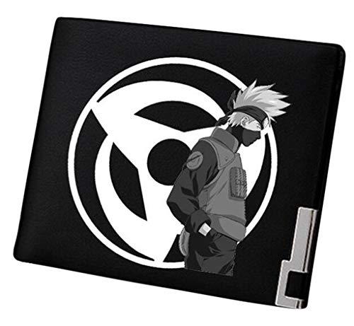 Cosstars Naruto Anime Bifold Brieftasche Kunstleder Schlanke Geldbörse Portemonnaie Kreditkartenhülle /12