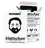DENKRIESEN - klattschen® - White Edition - Die offizielle Erweiterung des Kult-Trinkspiels, Ausführung:wasserfeste Plastikkarten