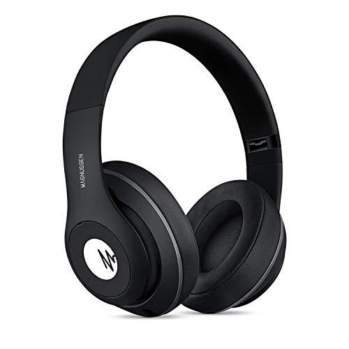 Magnussen Audio H1 Bluetooth koptelefoon 4.1, opvouwbaar, verstelbaar, zwart glanzend