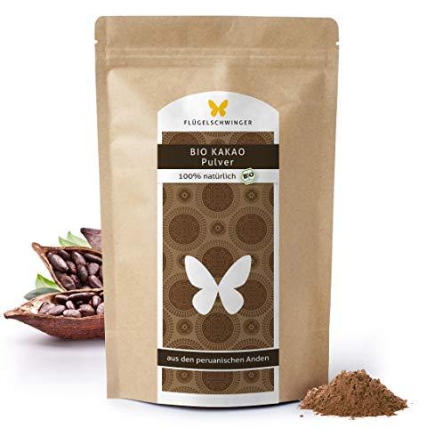 1kg BIO-Kakao-Pulver, DE-ÖKO-006, 100% natürlich, ohne Zusätze, aus biologischem Anbau, 100% Kakao aus den peruanischen Anden, stark entölt, 11% Fett (1000g)