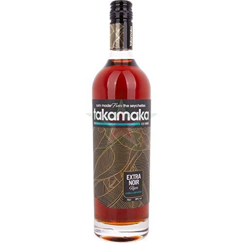 Takamaka EXTRA NOIR Rum 38,00% 0,70 lt.