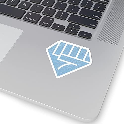 Diamond Hands, Diamond Stock Sticker, Hold Diamond Hands to The Moon, Hold Invest Stocks Laptop Sticker (2 Pcs)