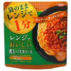 SSK レンジで美味しい薫るパスタソース ポルチーニ茸ボロネーゼ 130g×20袋入×(2ケース)