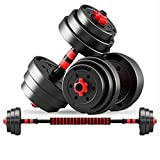 Adjustable Dumbbells, Sturdy and configurable, Adjustable Barbell, Easy to Assemble and Save Space,...