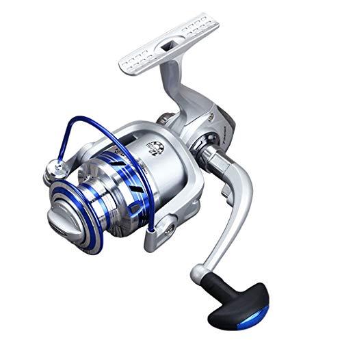 HoSayLike Full Metal Spinning Reel 5.1: 1 12Bb Carretes De Pesca Equipo De Pesca Spincast Carrete Carrete De Pesca Spinning