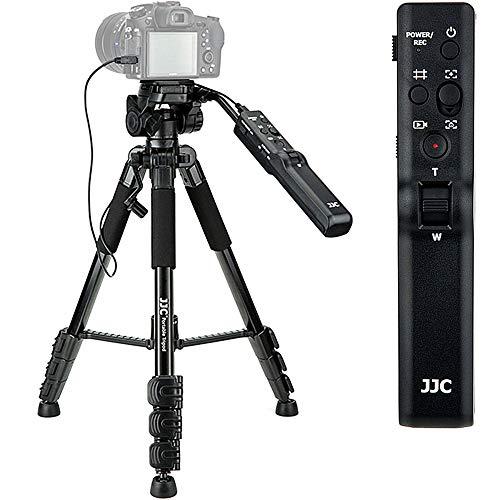 Camera Remote Control Tripod VCT-VPR1 Replacement for Sony A9II A9 A7RIV A7RIII A7III A7RII A7SII A7II A7R A7S A7 A6600 A6500 A6400 A6300 A6100 A6000 A99II A77II A68 A58 RX10VI III II RX100M7 RX100M6