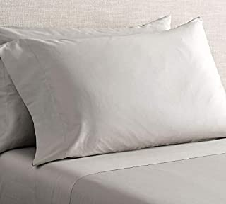 USA Linens & Beyond Cooling Sheet Sets - Tencel Luxury King Sheet Set (Light Gray)