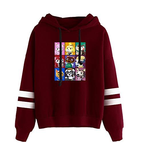 Langarm-Kapuzenpullover Für Herren/Damen Animal Crossing Hooded Drawstring Sweatshirt (XXS-4XL)
