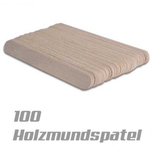 100 Stk. Holzmundspatel Birkenholz Holzspatel Holz Spatel