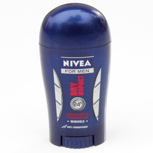 Nivea for Men Dry Impact Solid Stick Deodorant 40ml