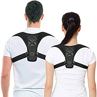 Back Posture Corrector for Women & Men, Adjustable Back Brace to comfortably Improve Posture-Clavicle Support for Slouchin...