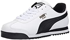Retro-inspired sneaker featuring signature Formstrips at sides and T-toe overlay Cushioned midsole with arch support Sawtooth traction outsole