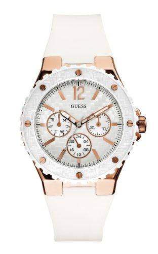 GUESS U12652L1 Feminine Sport Watch - Rose Gold: Watches