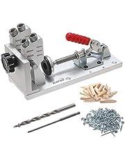 105418 Hout Pocket Jig Kit Houtbewerking Tool voor Schroef Boor Draagbare Carpenter