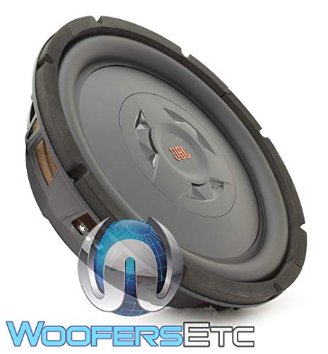 "JBL Club WS1200 - 12"" Shallow mount subwoofer w/SSI (Selectable Smart Impedance) switch from 2 to 4 ohm"
