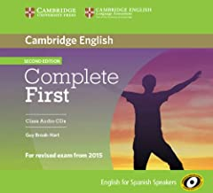 Complete First for Spanish Speakers Class Audio CDs (3) 2nd Edition