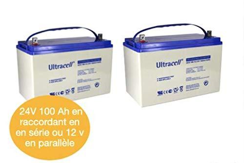 Batterie gel 2400 100 C10