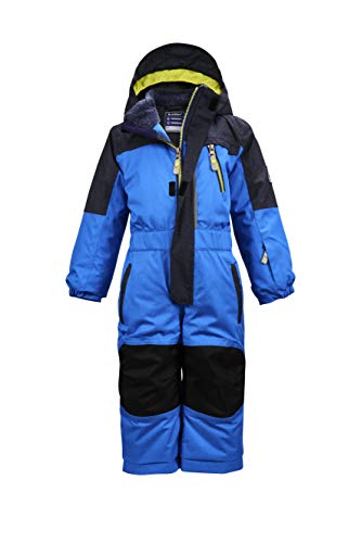 Killtec Mono de esquí para niño Viewy Mns Onpc con capucha, Niños, 35479-000, azul...