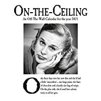 On The Ceiling 2021 Calendar - Official Square Wall Format Calendar