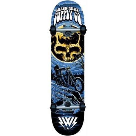 Shaun White - Skateboard completo Park, Blu (blu), 8
