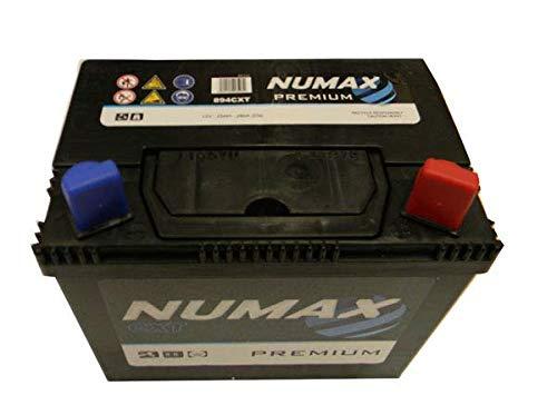 Numax batterie de démarrage Motoculture 894CXT U1R9 12V 25AH 280 AMPS (EN)