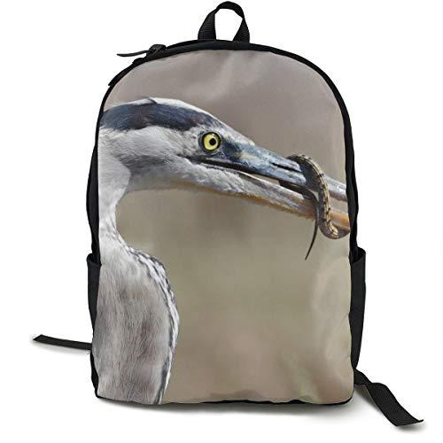 Rucksack mit Vogelfutter, für Schule, Schule, Büchertasche, Reisen, Laptop, Rucksack für Kinder, Studenten, Erwachsene