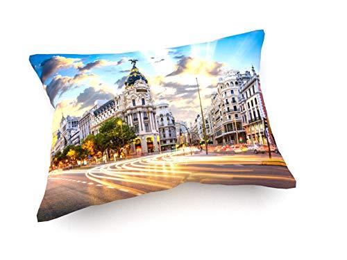 weewado Sean Pavone - Madrid, España 60x40 cm Cojines del sofá - Arte, Imagen, Pintura, Foto - City Trip & Trav