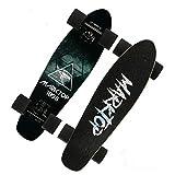 LWY Junior Skateboard, Mini à Quatre Roues Board Brosse Road Street for Adultes Enfants H2/8