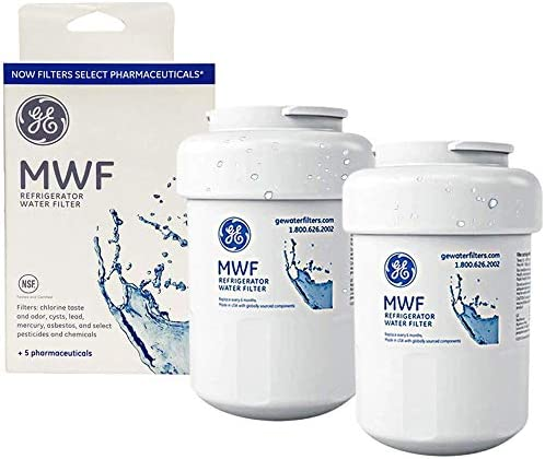 MWF Water Filter for GE Refrigerator Water Filter Replacement Compatible with GE SmartWater product image
