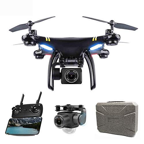N GW168 FPV GPS RC Drohne mit 1080P HD Kamera, WiFi Echtzeit Live Video Antennen Quadcopter mit Follow Me und Headless