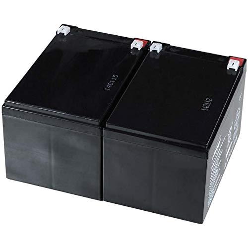 Powery Batería de Gel para APC Smart-UPS SMT1000I