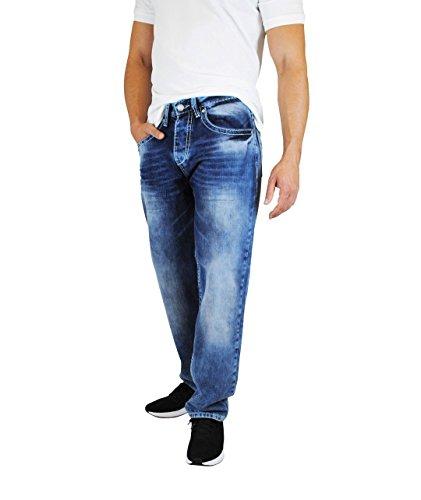 Viazoni Jeans Otto (W34L30, Hell/Mittelblau)