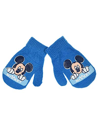 Moufles bébé garçon Disney Mickey 6 coloris Taille unique (6-24mois) - Bleu, Taille unique