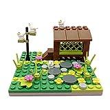 SENG Juego de construcción modular de casa de pájaros con escena MOC, juguete de construcción para niños y adultos, compatible con Lego