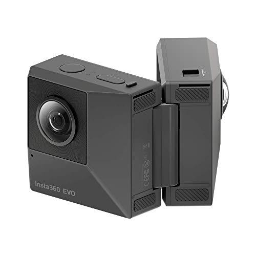 Insta360 EVO - Fotocamera Pieghevole 3D 180° e 360°,...