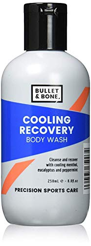 Bullet & Bone Natural Cooling Recovery Menthol & Peppermint Body Wash, Vegan Friendly 100 ml