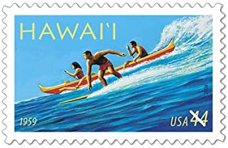 hawaii statehood stamp