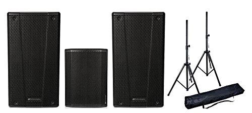 DB Technologies Anlage Audio 1000W PAAR b-hype 15/Subwoofer/Stative