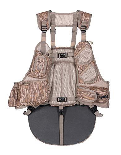 Knight & Hale Run-N-Gun 200-BL Turkey Vest - Mossy Oak Bottomland, One Size (KHT0095)