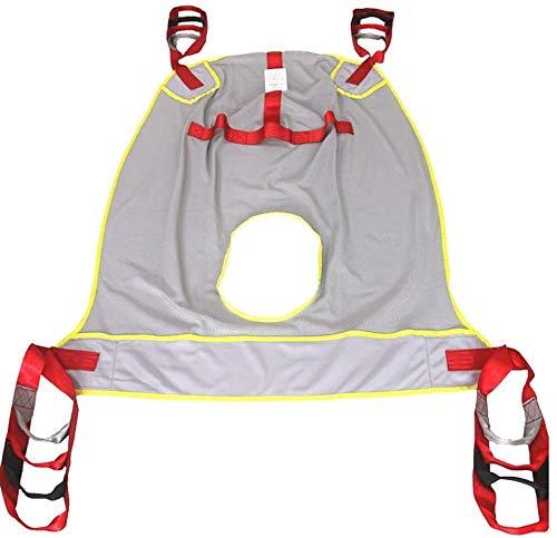 415QRZN9XXL - Elevación paciente Presidente honda Ir al baño con la ayuda de cuatro puntos de transferencia de cuerpo completo honda bariátrica Handicap banda for caminar de pie ayuda a la transferencia del cinturó