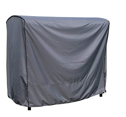 SORARA Schutzhülle für 3-sitzer Hollywoodschaukel   gartenmöbel Abdeckung   Grau   203 x 145 x 183 cm   wasserabweisend