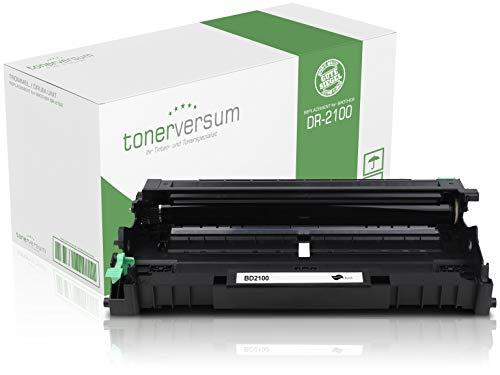 Tonerversum Trommel kompatibel zu Brother DR-2100 Bildeinheit für DCP-7030 MFC-7320 HL-2140 HL-2150 HL-2170 Laserdrucker DR2100