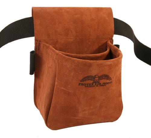Protektor Model Trap/Skeet Shooters Bag Suede Leather by Protektor Model Co.