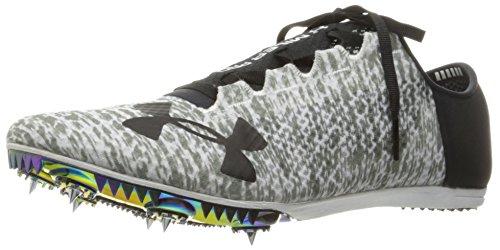 Under Armour Unisex-Adult Speedform Miler Pro Athletic Shoe, White (100)/Black, 12