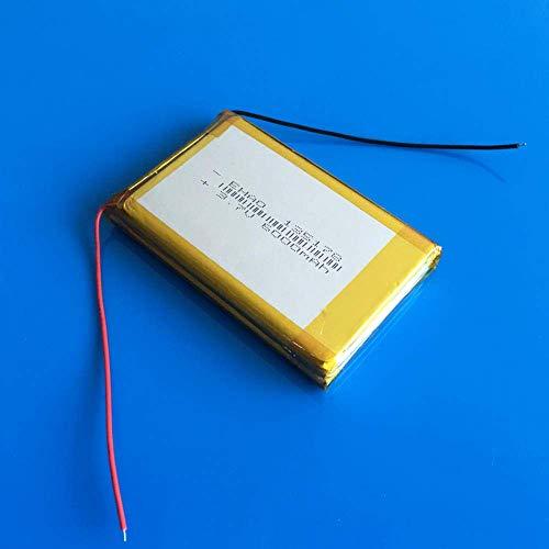 GzxLaY Batería de Respaldo de Alto Rendimiento 3.7V 6000mAh Combinación Recargable de polímero de lipo Batería de Iones de Litio para Power Bank Tablet PC Laptop Pad PCM Board 13x51x78